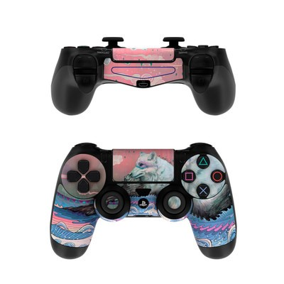 Sony PS4 Controller Skin - Lone Wolf