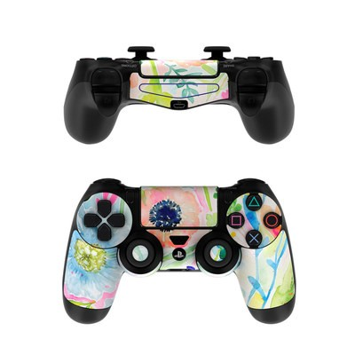 Sony PS4 Controller Skin - Loose Flowers