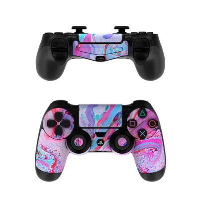 Sony PS4 Controller Skin - Marbled Lustre