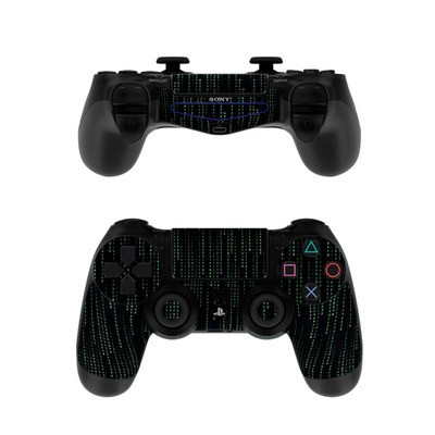 Sony PS4 Controller Skin - Matrix Style Code