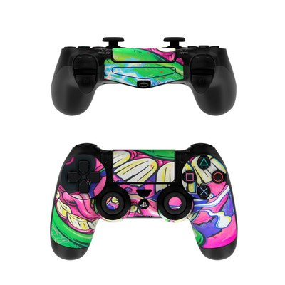 Sony PS4 Controller Skin - Mean Green