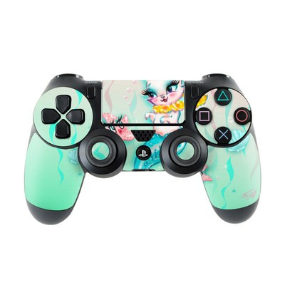 Sony PS4 Controller Skin - Merkitten with Lei