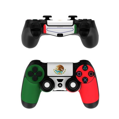 Sony PS4 Controller Skin - Mexican Flag