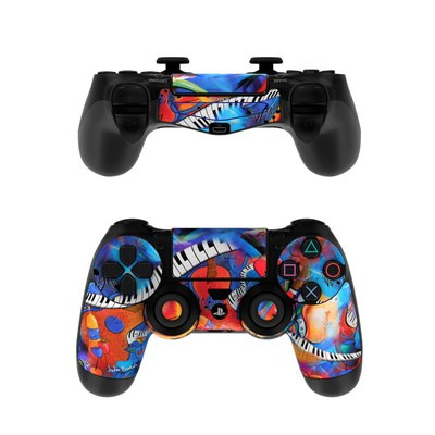Sony PS4 Controller Skin - Music Madness