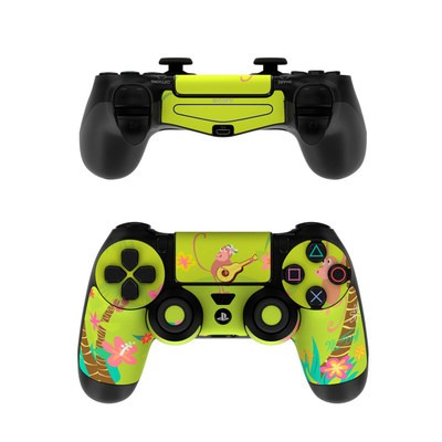 Sony PS4 Controller Skin - Monkey Melody