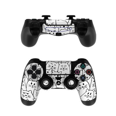 Sony PS4 Controller Skin - Moody Cats