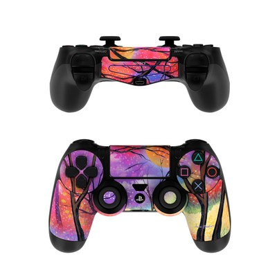 Sony PS4 Controller Skin - Moon Meadow