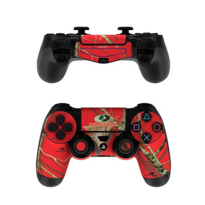 Sony PS4 Controller Skin - Break-Up Lifestyles Red Oak