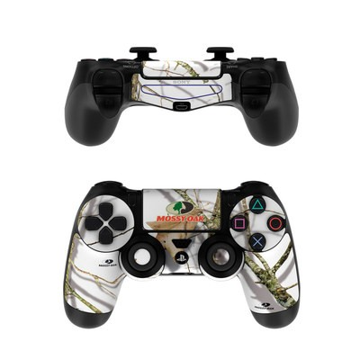 Sony PS4 Controller Skin - Break-Up Lifestyles Snow Drift