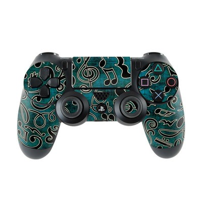 Sony PS4 Controller Skin - Music Notes