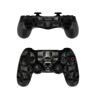 Sony PS4 Controller Skin - Metallic Weave