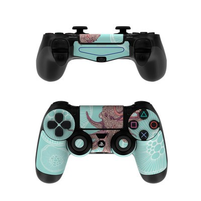 Sony PS4 Controller Skin - Octopus Bloom