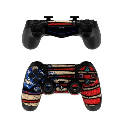 Sony PS4 Controller Skin - Old Glory