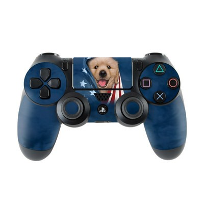 Sony PS4 Controller Skin - Patriotic Retriever