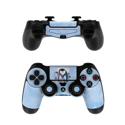 Sony PS4 Controller Skin - Penguin Heart