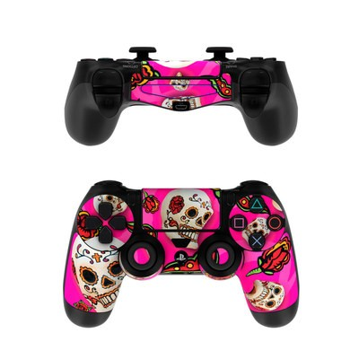 Sony PS4 Controller Skin - Pink Scatter