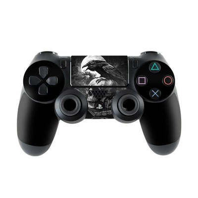 Sony PS4 Controller Skin - Poe's Raven