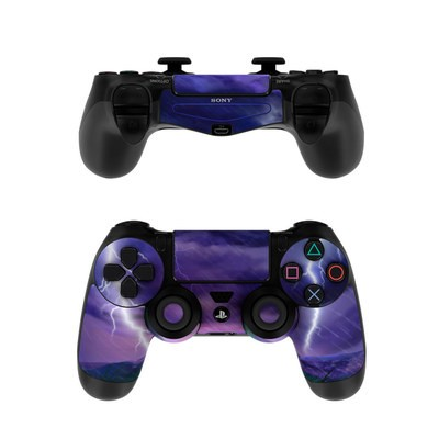 Sony PS4 Controller Skin - Purple Strike