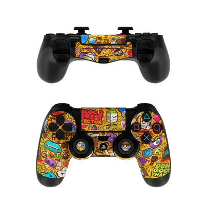 Sony PS4 Controller Skin - Psychedelic