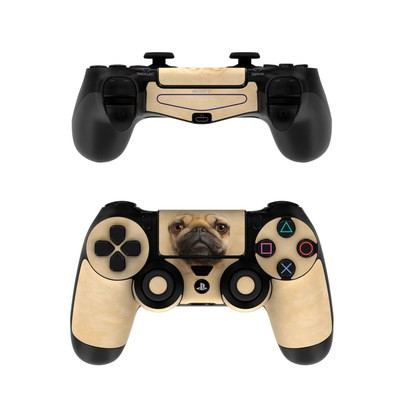Sony PS4 Controller Skin - Pug