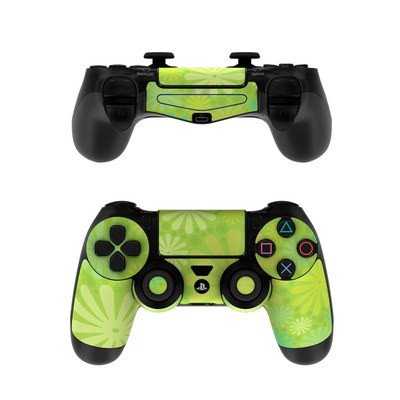 Sony PS4 Controller Skin - Lime Punch
