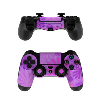Sony PS4 Controller Skin - Purple Punch