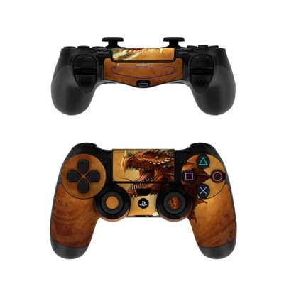 Sony PS4 Controller Skin - Red Dragon