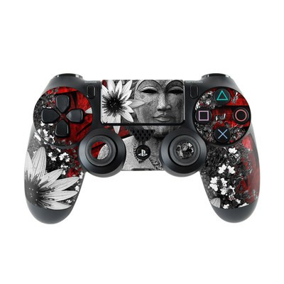 Sony PS4 Controller Skin - Red Island Radiance