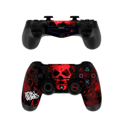Sony PS4 Controller Skin - Red Skull