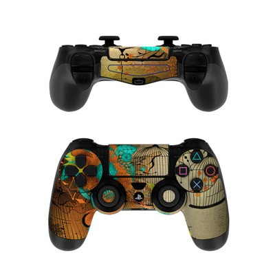 Sony PS4 Controller Skin - Rusty Lace