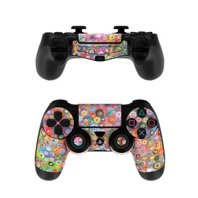Sony PS4 Controller Skin - Round and Round