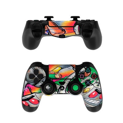 Sony PS4 Controller Skin - Robot Beatdown
