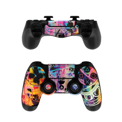 Sony PS4 Controller Skin - Robot Roundup