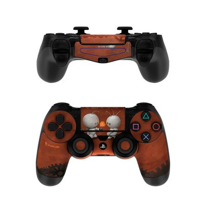 Sony PS4 Controller Skin - Robots In Love