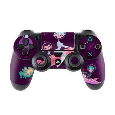 Sony PS4 Controller Skin - Rocket Girl