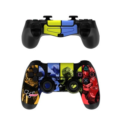 Sony PS4 Controller Skin - Race Panels