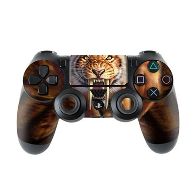 Sony PS4 Controller Skin - Sabertooth