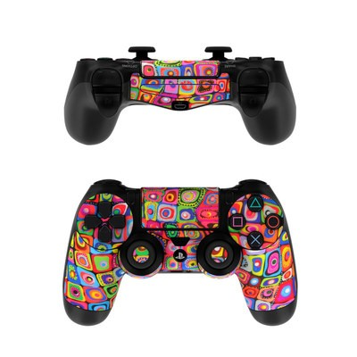 Sony PS4 Controller Skin - Square Dancing