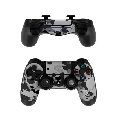 Sony PS4 Controller Skin - SOFLETE Black Multicam