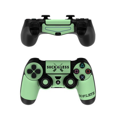 Sony PS4 Controller Skin - SOFLETE Suck Less Arrows Mint