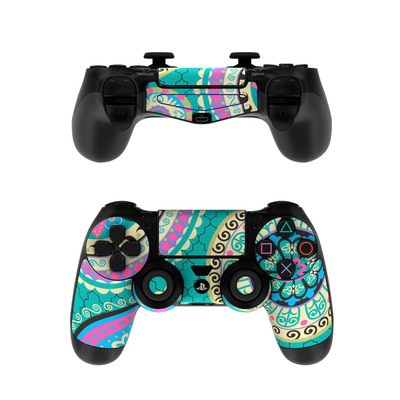 Sony PS4 Controller Skin - Silk Road