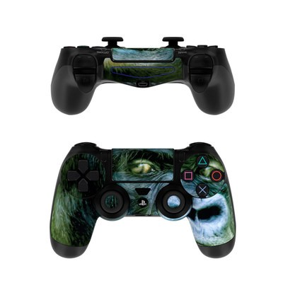 Sony PS4 Controller Skin - Silverback