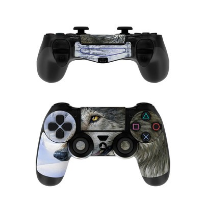 Sony PS4 Controller Skin - Snow Wolves