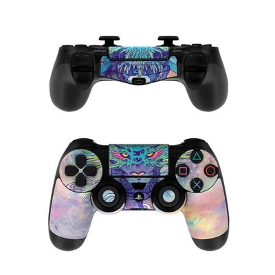 Sony PS4 Controller Skin - Spectral Cat