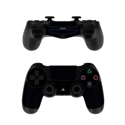 Sony PS4 Controller Skin - Solid State Black