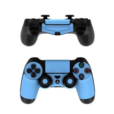 Sony PS4 Controller Skin - Solid State Blue