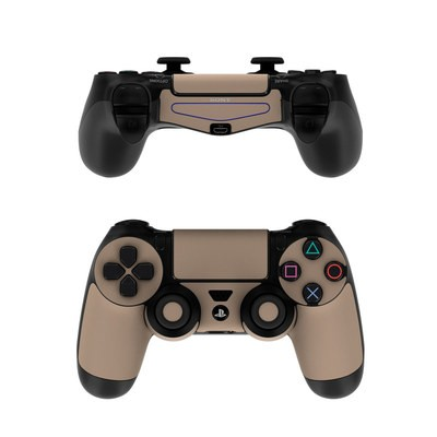 Sony PS4 Controller Skin - Solid State Flat Dark Earth