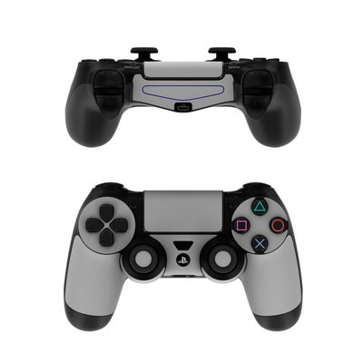 Sony PS4 Controller Skin - Solid State Grey