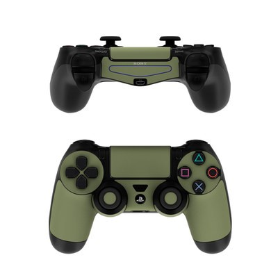 Sony PS4 Controller Skin - Solid State Olive Drab