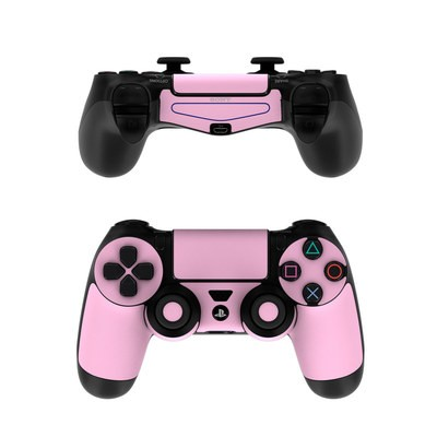 Sony PS4 Controller Skin - Solid State Pink